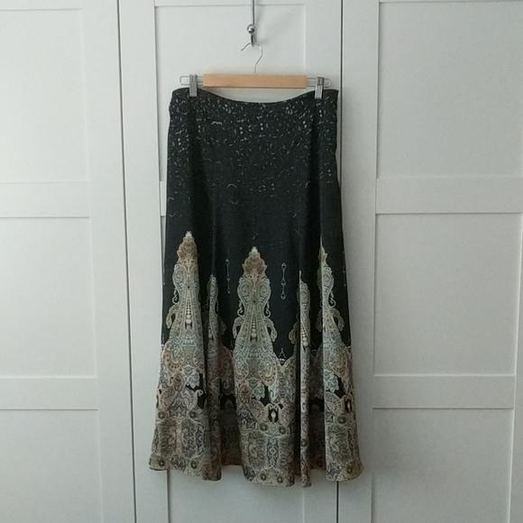 Unlisted Dresses & Skirts - Boho Flowy Maxi Skirt
